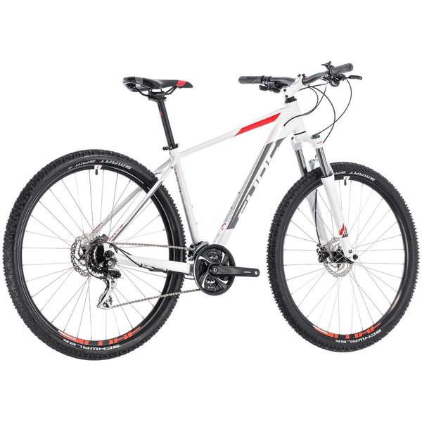 Bicicleta Cube Aim Race 27.5 White Red 2018