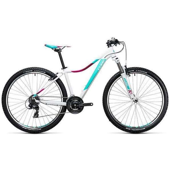 Bicicleta Cube Access WLS 27.5 white mint 2017
