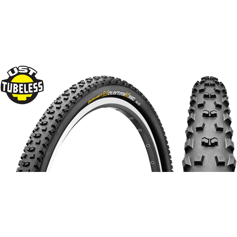 Cauciuc Continental Mountain King UST 26x2.4 OEM pliabil