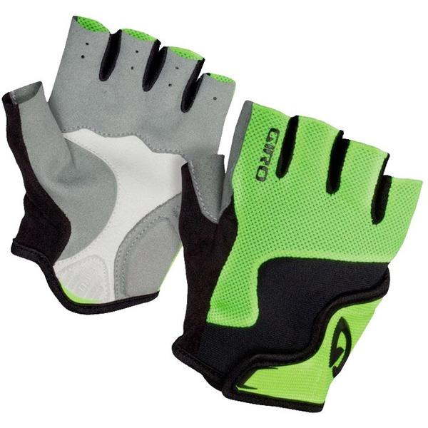 Giro Bravo Childrens Gloves green/black