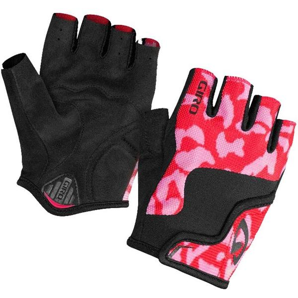 Giro Bravo Childrens Gloves pink/black