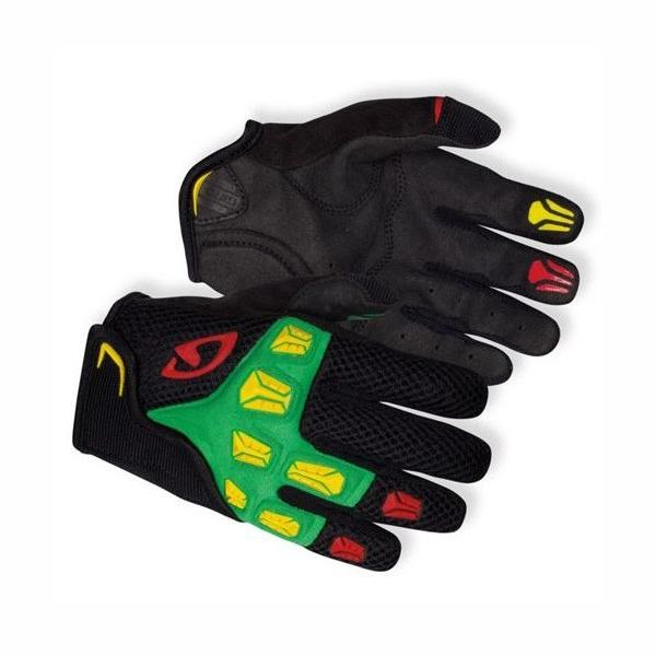 Giro Remedy JR Gloves black/green/red