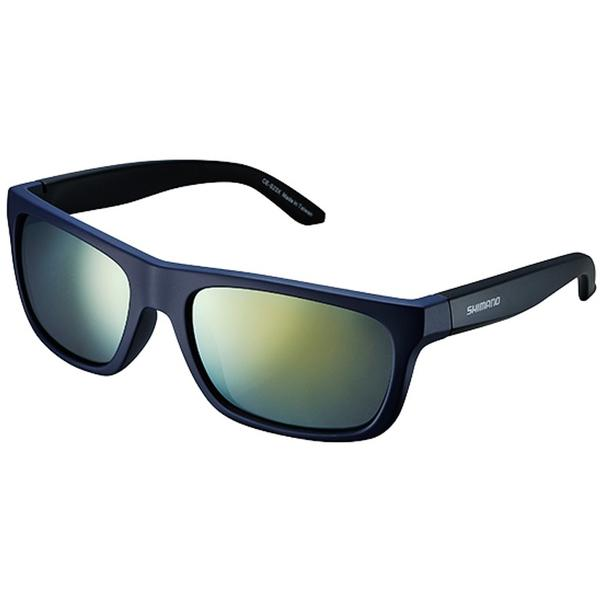 SHIMANO SEW ochelari ce-s23x, mat orion blue/mat black, lentile smoke orange mirror hydrophobic