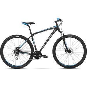 Bicicleta Kross Hexagon 5.0 29 Black Graphite Blue Mat 2018