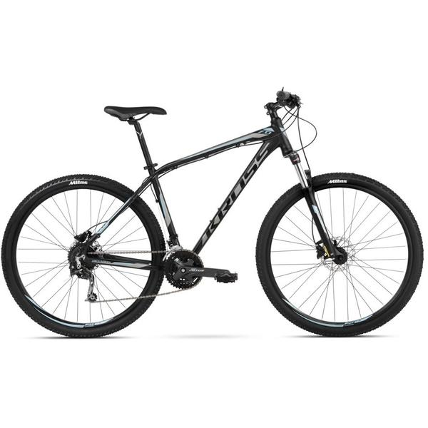 Bicicleta Kross Hexagon 7.0 29 Black Graphite Steel 2018