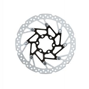 Disc frana Force-5 160 mm Spider 6 gauri negru/argintiu