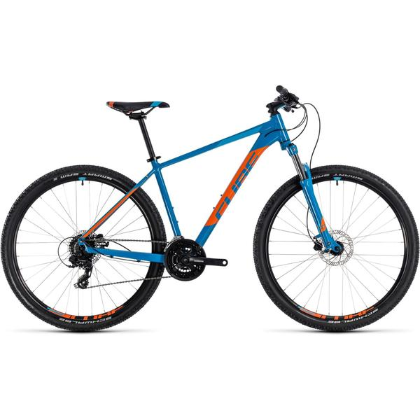 Bicicleta Cube Aim PRO 27.5 Blue Orange 2018