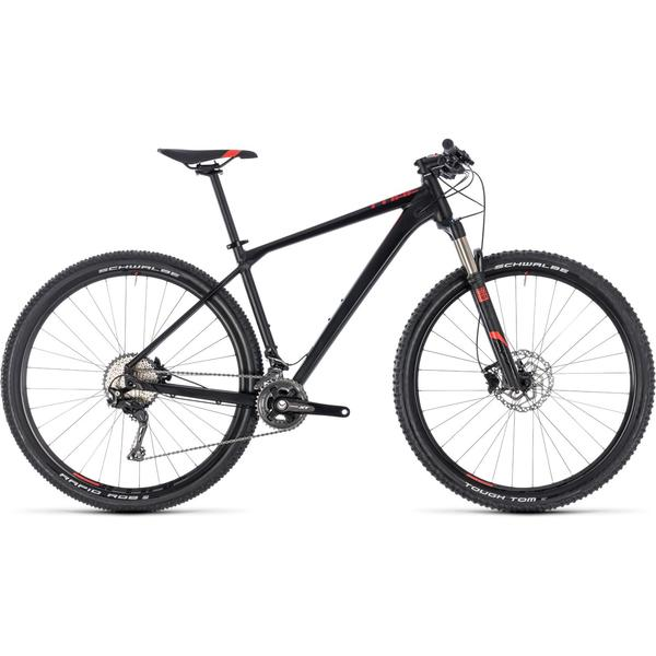 Bicicleta Cube Reaction PRO 29 Black Red 2018