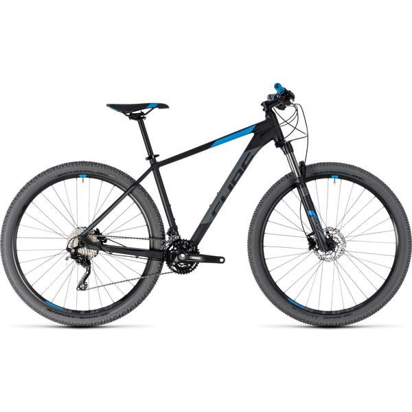 Bicicleta Cube ATTENTION 27.5 Black Blue 2018