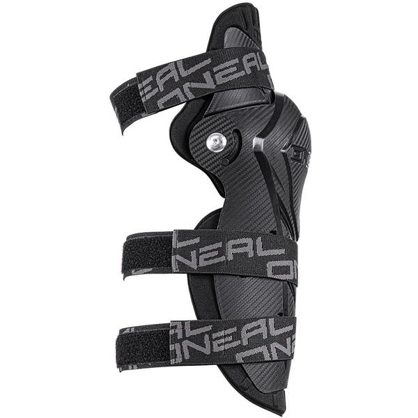 Genunchiere lungi ONeal Pumpgun MX, Carbon look