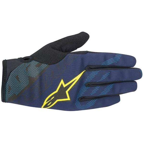 Alpinestars Manusi Stratus deep blue/acid yellow
