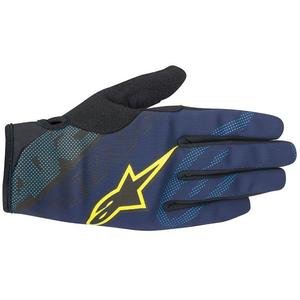 Manusi Stratus deep blue/acid yellow