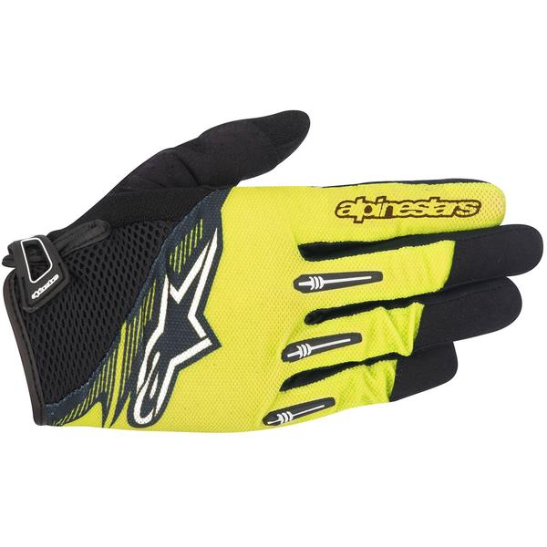 Alpinestars Manusi Flow Glove acid yellow black