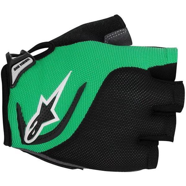 Alpinestars Manusi Pro-Light Short Finger black bright green