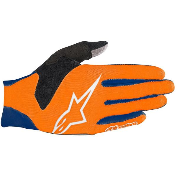 Alpinestars Manusi Aero V3 poseidon blue/energy orange
