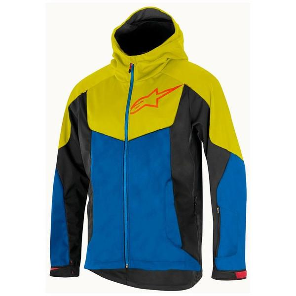 Jacheta Alpinestars Milestone 2 Jacket bright blue/acid yellow