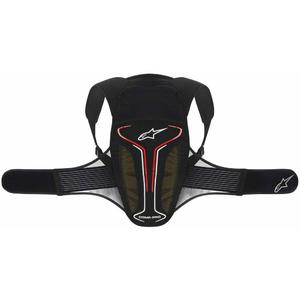 Protectie spate Evolution Back Protector black/white/red