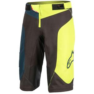Pantaloni scurti Vector black/acid yellow