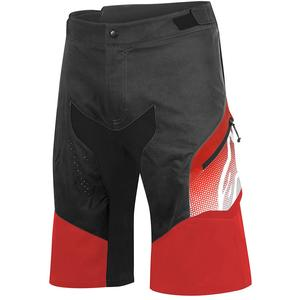Pantaloni scurti Predator black/red