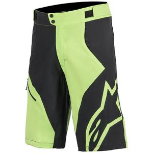 Pantaloni scurti Pathfinder Base Racing Shorts bright green/black