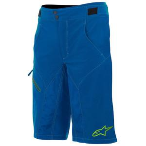 Pantaloni scurti Outrider Water Resistant Base Shorts dark blue/lime