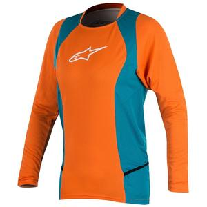 Alpinestar Stella Drop 2 L/S Jersey bright orange/ocean