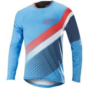 Alpinestar Predator LS Jersey bright blue/poseidon orange