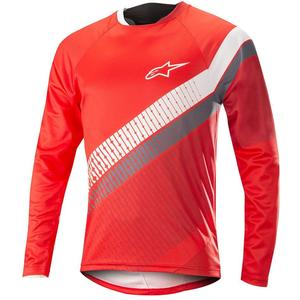 Alpinestar Predator LS Jersey red cherry/white