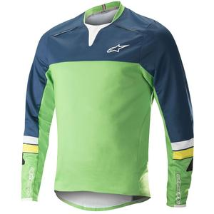 Alpinestar Drop Pro L/S Jersey poseidon blue/summer green