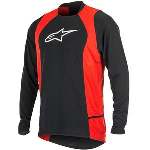 Drop 2 long Sleeve Jersey black/red