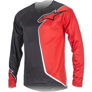 Sierra Long Sleeve Jersey black/red