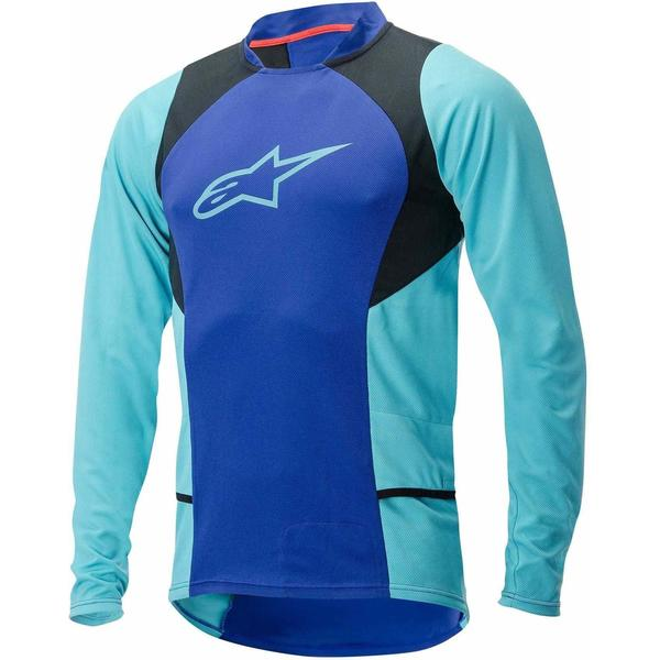 Bluza Alpinestars Drop 2 long Sleeve Jersey blue/stratos/aqua