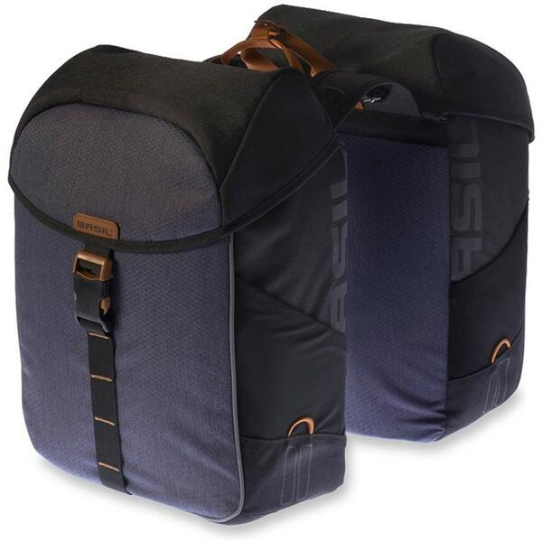 BASIL Miles Double Bag black