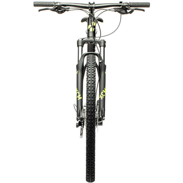 Bicicleta Cube AIM EX Black Flashyellow 2021