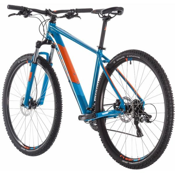 Bicicleta Cube AIM PRO Blue Orange 29 2019