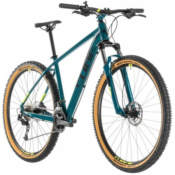 Bicicleta Cube AIM SL Pinetree Flashyellow 27.5 2019