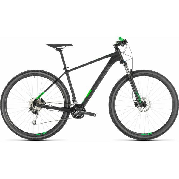 Bicicleta Cube ANALOG Black Green 29 2019