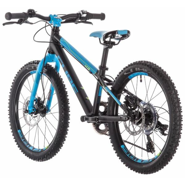 Bicicleta Cube ACID 200 DISC Black Blue Kiwi 2019
