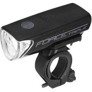 Force Far fata Triple 3 Led negru