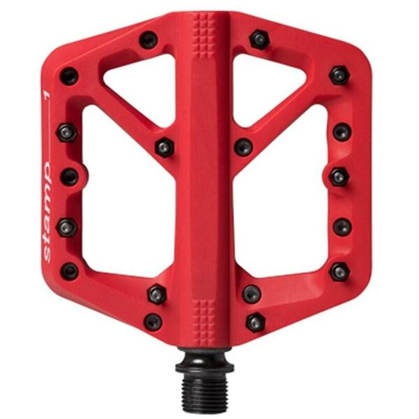CrankBrothers Pedale Stamp 1 Small rosu 2019