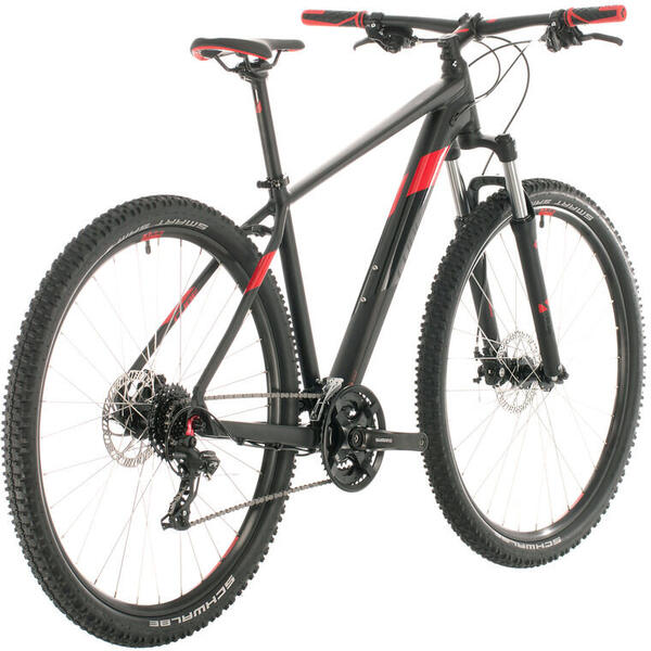 Bicicleta Cube AIM 29er Black Red 2020