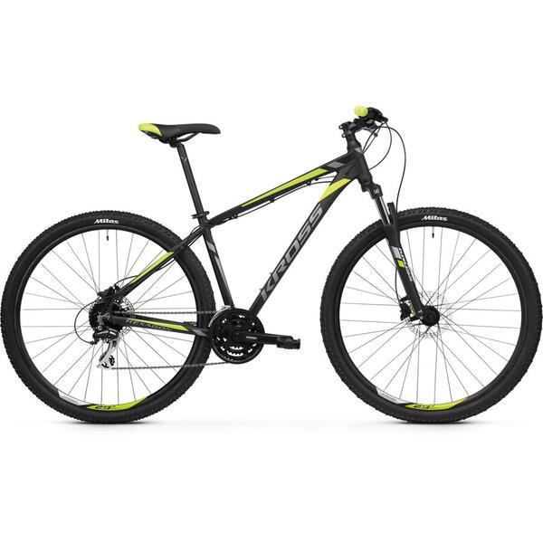 Bicicleta Kross Hexagon 5.0 29 M black-graphite-lime-matte 2020