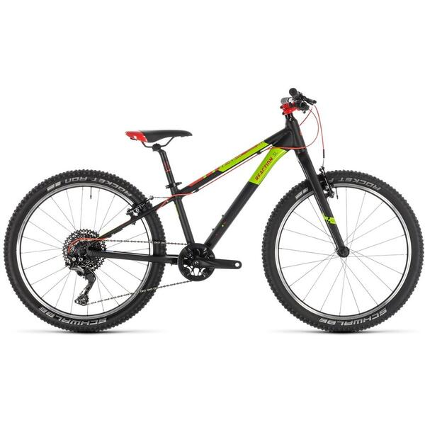 Bicicleta BICICLETA CUBE REACTION 240 SL Red Green Black 2020
