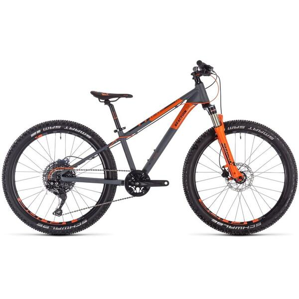 Bicicleta BICICLETA CUBE REACTION 240 TM Black Orange 2020