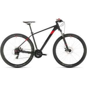 Bicicleta BICICLETA CUBE AIM Black Red 2020