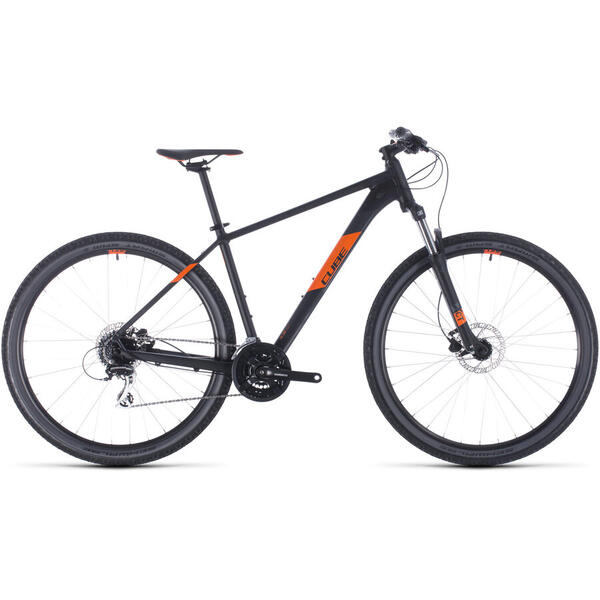 Bicicleta BICICLETA CUBE AIM PRO Black Orange 2020