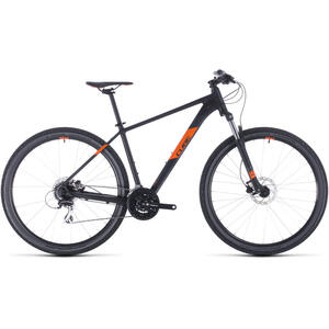 BICICLETA CUBE AIM PRO Black Orange 2020