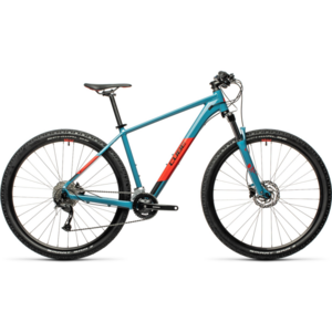 Bicicleta Cube AIM EX Blue Red 2021