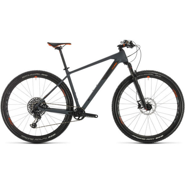 Bicicleta BICICLETA CUBE REACTION C:62 RACE Grey Orange 2020