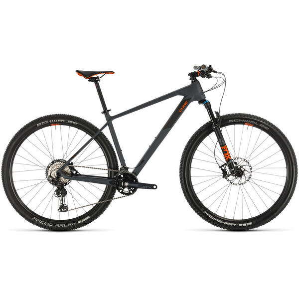 Bicicleta BICICLETA CUBE REACTION C:62 RACE  2X12  Grey Orange 2020